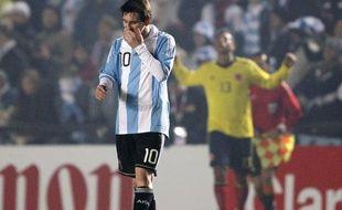 Lionel Messi face à la Colombie, le 6 juillet 2011