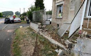 Quatre personnes sont décédées, dont trois d'une même famille, et une autre est blessée après un accident de la route près de Vauciennes (Marne), le 9 août 2015 au matin