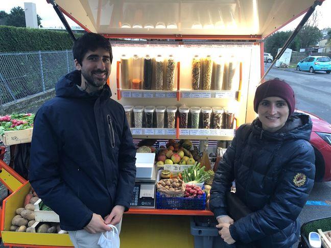 Mathieu et Anais ont créé le Cyclomarché