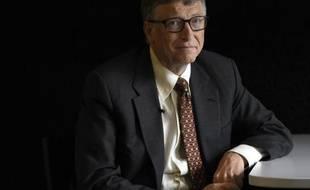 Le co-fondateur de Microsoft, l'Américain Bill Gates, à Berlin le 27 janvier 2015