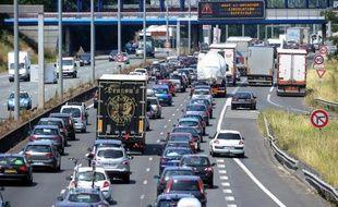 Vinci sera chargé de construire et gérer la future autoroute entre Lyon et Saint-Etienne (illustration).