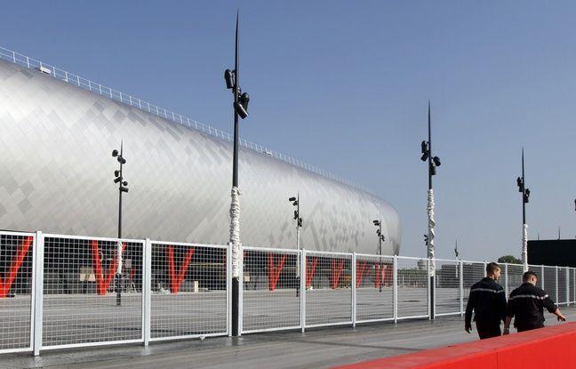 Le stade du Hainaut à Valenciennes, en 2011