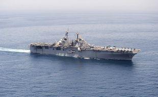 Photo du navire américain USS «Boxer», le 16 juin 2019.