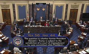 Les sénateurs américains ont voté le 9 février pour que le procès en destitution de Donald Trump continue.