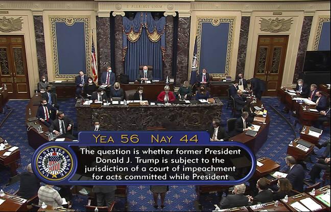 648x415 senateurs americains vote 9 fevrier proces destitution donald trump continue