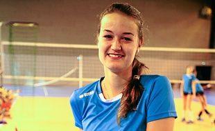 Anastasia Koutchouk a 18 ans.