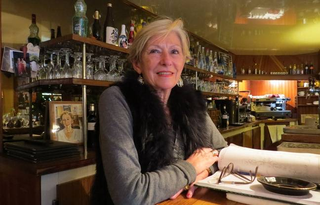 Maryvonne, patronne du restaurant « Les Hirondelles »