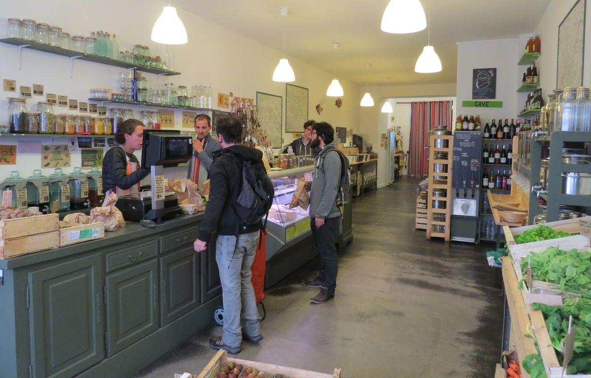 A Bordeaux le 22 septembre 2015, les créateurs de la Recharge veulent aider d'autres entrepreneurs à créer leur épicerie. – E.Provenzano / 20 Minutes