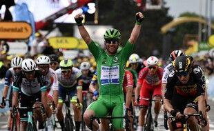 Cavendish remporte sa troisième étape depuis le début du Tour.