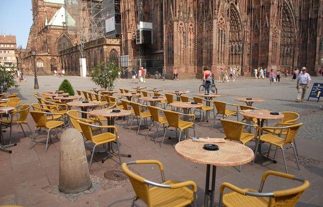 Touristique, la ville de Strasbourg est très loin d'avoir les rues les plus sales de France...