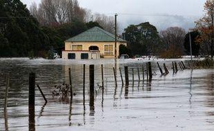 Une famille a sauvé un cheval pris dans une inondation en Australie