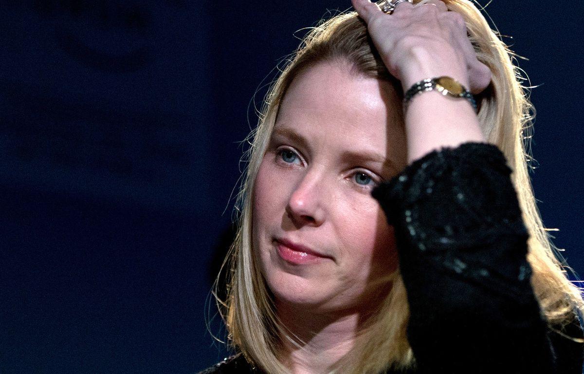 La patronne de Yahoo, Marissa Mayer. – J.EISELE/AFP