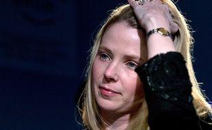 La patronne de Yahoo, Marissa Mayer.