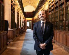 Pierre Moscovic, president de la Cour des Comptes le 18/03/2021.