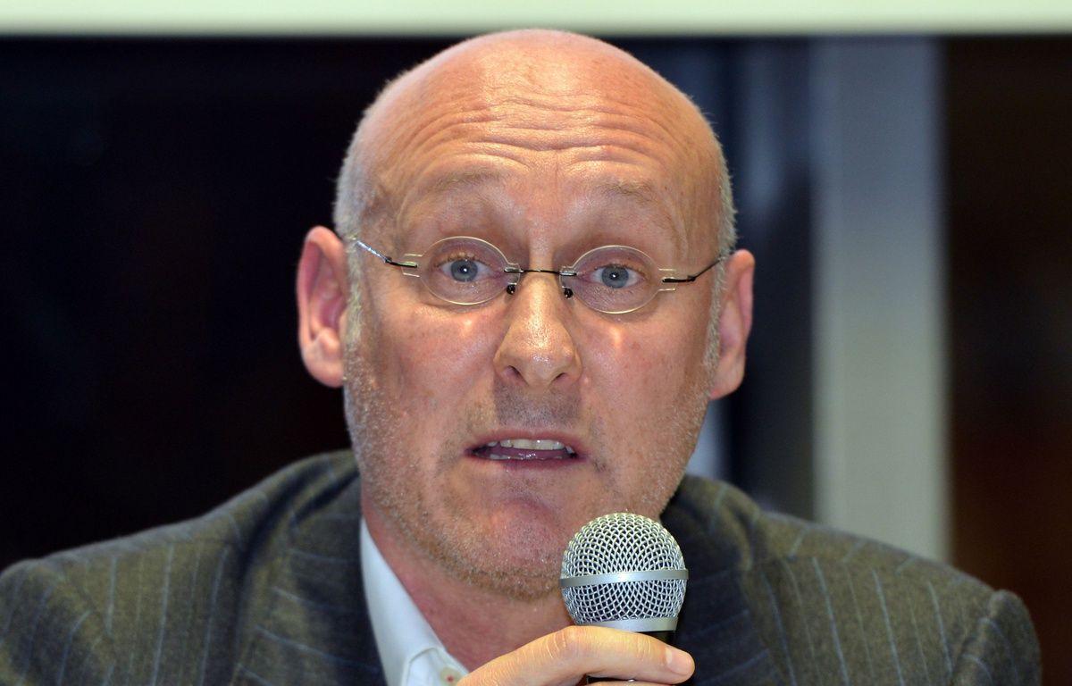 Bernard Laporte, candidat à la présidence de la Fédération française de rugby. – M. Allili / Sipa