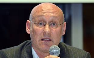 Bernard Laporte, candidat à la présidence de la Fédération française de rugby.