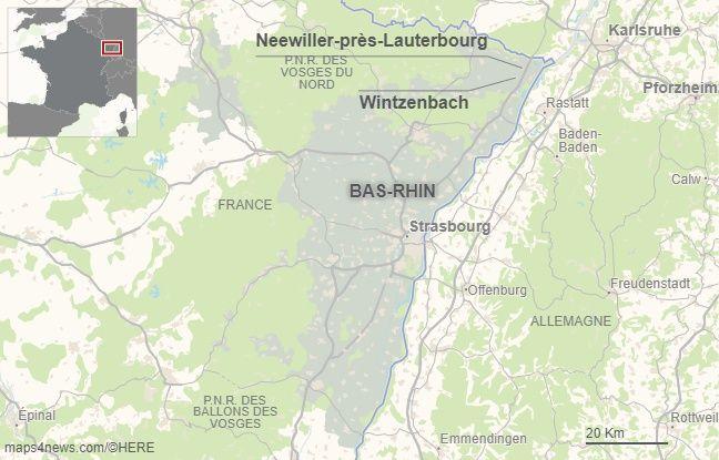 Wintzenbach dans le Bas-Rhin.