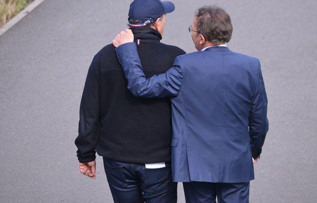 L'entraîneur de l'ASSE est reparti très proche de son président après leur conférence de presse commune, ce mardi à L'Etrat.