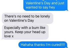 Une Américaine a fait une expérience pour la Saint-Valentin: envoyer des messages à des garçons croisés brièvement dans des bars plusieurs mois auparavant.