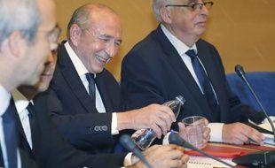 Gérard Collomb, ministre de l'Intérieur, au Sénat le 24 juillet 2018.