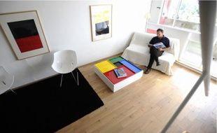 Guillaume Ringo propose de louerà la journée son duplex situé au 17e étage.