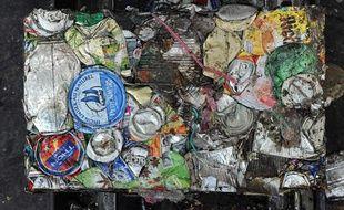 Usine d'incinération des déchets ménagers à Marseille.