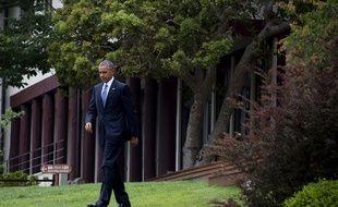 Barack Obama lors du G7 à Ise-Shima, au Japon, le 27 mai 2016.