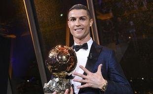 Ronaldo a remporté son 5e Ballon d'Or, le 7 décembre 2017.