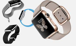 Plusieurs modèles d'Apple Watch, qui seront disponibles «début 2015».