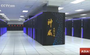 Le Sunway TaihuLight, ordinateur 100 % chinois, est le plus puissant du monde.