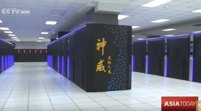 supercalculateurs l 39 ordinateur le plus puissant du monde est 100 chinois. Black Bedroom Furniture Sets. Home Design Ideas