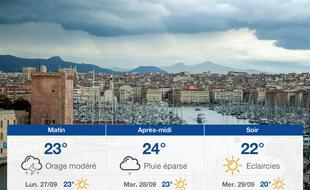 Météo Marseille: Prévisions du dimanche 26 septembre 2021