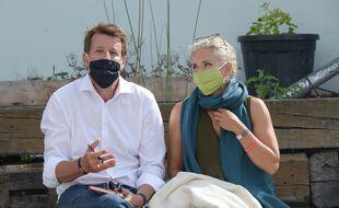 Yannick Jadot et Delphine Batho, tous deux candidats à la primaire écolo.