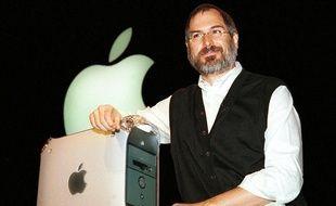 Steve Jobs présente le Power Mac G4 à San Francisco, le 31 août 1999.