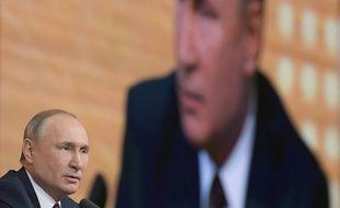 Vladimir Poutine, ici en décembre 2019, voit les choses en grand pour rester à la tête de la Russie.