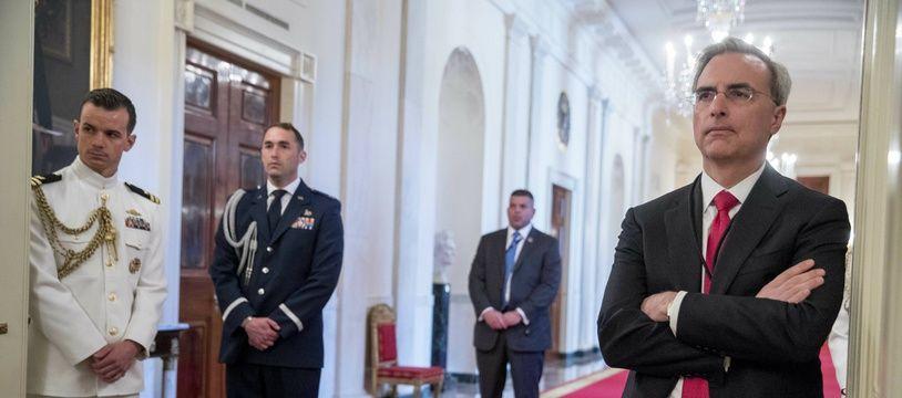 Pat Cipollone, qui dirige l'équipe de défense de Donald Trump, à Washington, en mai 2019.