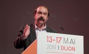 Philippe Martinez est secrétaire général de la CGT depuis 2015.
