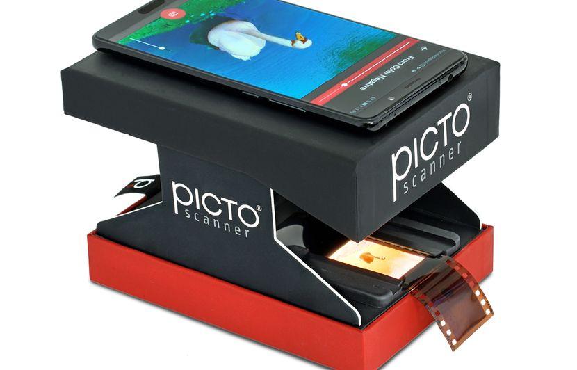 VIDEO. PictoScanner: Un scanner de poche pour redonner vie aux diapos et négatifs d'antan sur smartphone