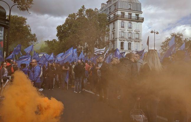 Dans les manifs de policiers comme dans les festivals musicaux, il y a toujours un drapeau breton qui traîne