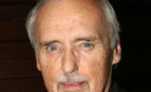 Dennis Hopper à Paris, en octobre 2008