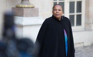 La ministre de la Justice Christiane Taubira, le 18 décembre 2013.
