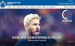 Messi à Cruzeiro, la bombe de ce mercato!