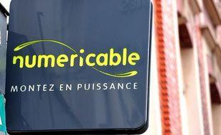 Une enseigne Numericable à Lille.