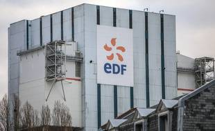 (Illustration) Le logo d'EDF.