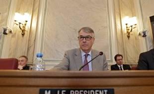 Jean-Ren Lecerf,  président du département du Nord.