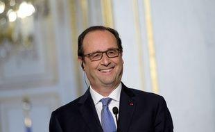 François Hollande le 1er décembre 2014 à l'Elysée.
