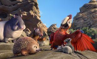 Les animaux héros de Robinson Crusoe de Vincent Kesteloot