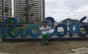 Nabil Guedoun a délaissé le parquet des Hornets du Cannet pour celui de Rio.
