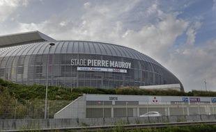 Le stade Pierre Mauroy, à Villeneuve d'Ascq, près de Lille
