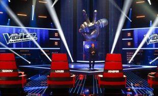 """Le plateau de l'émission de TF1 """"The Voice"""""""